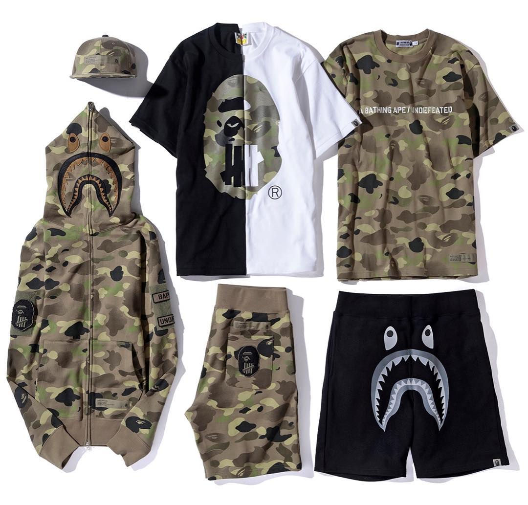 Bape Undefeated SS2017
