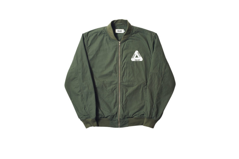 Palace-17-Drop-B-Bomber-Cripstop-olive-front