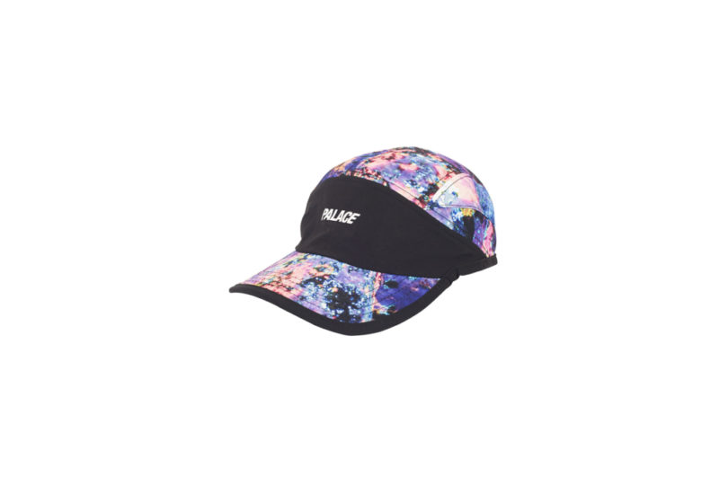 Palace-17-Drop-B-Cap-running-Hat-Iments-black