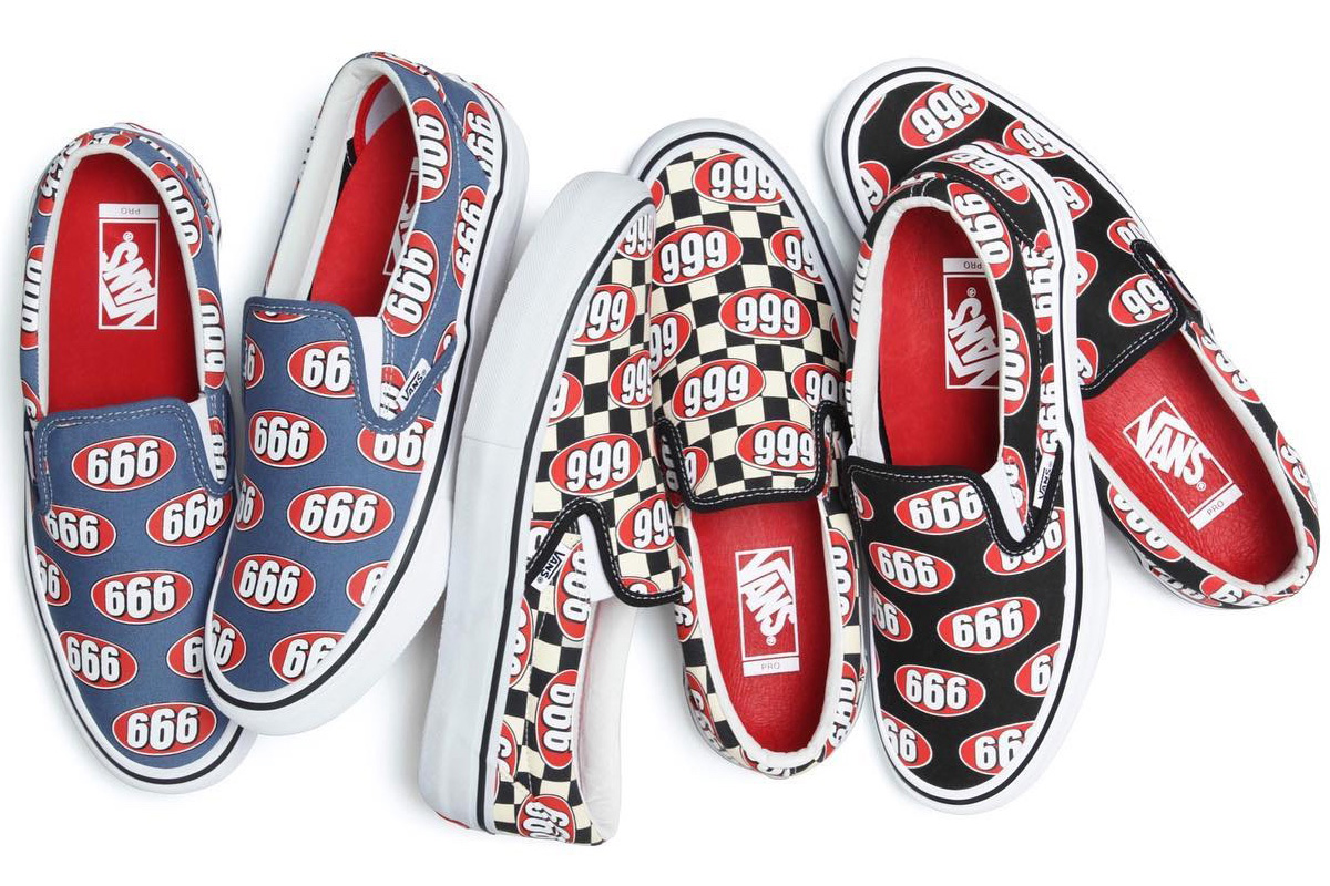 Supreme Vans 666