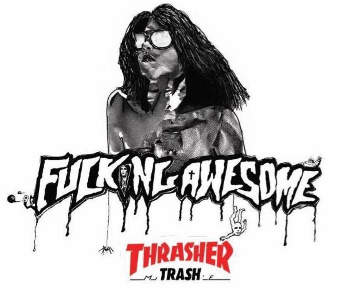 Fucking Awesome x Thrasher