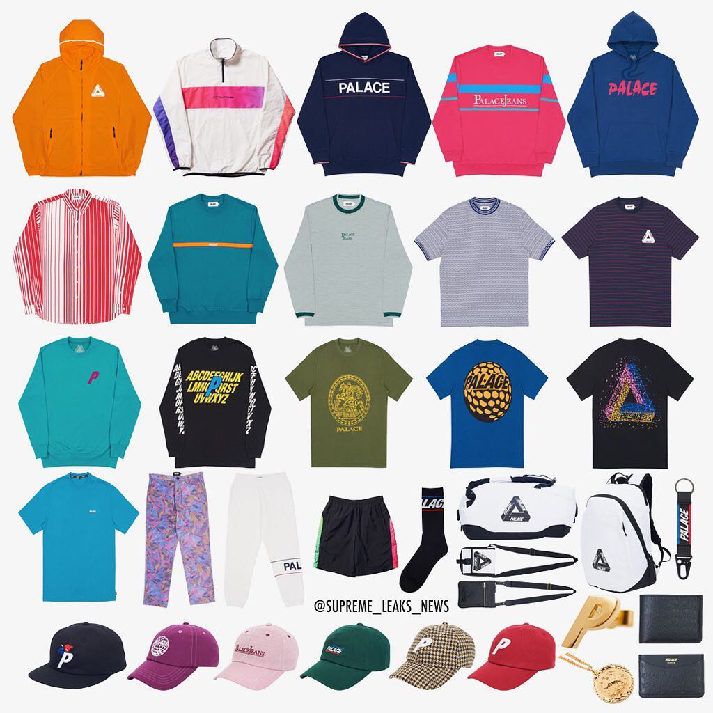 Palace Autumn 2017 drop 1