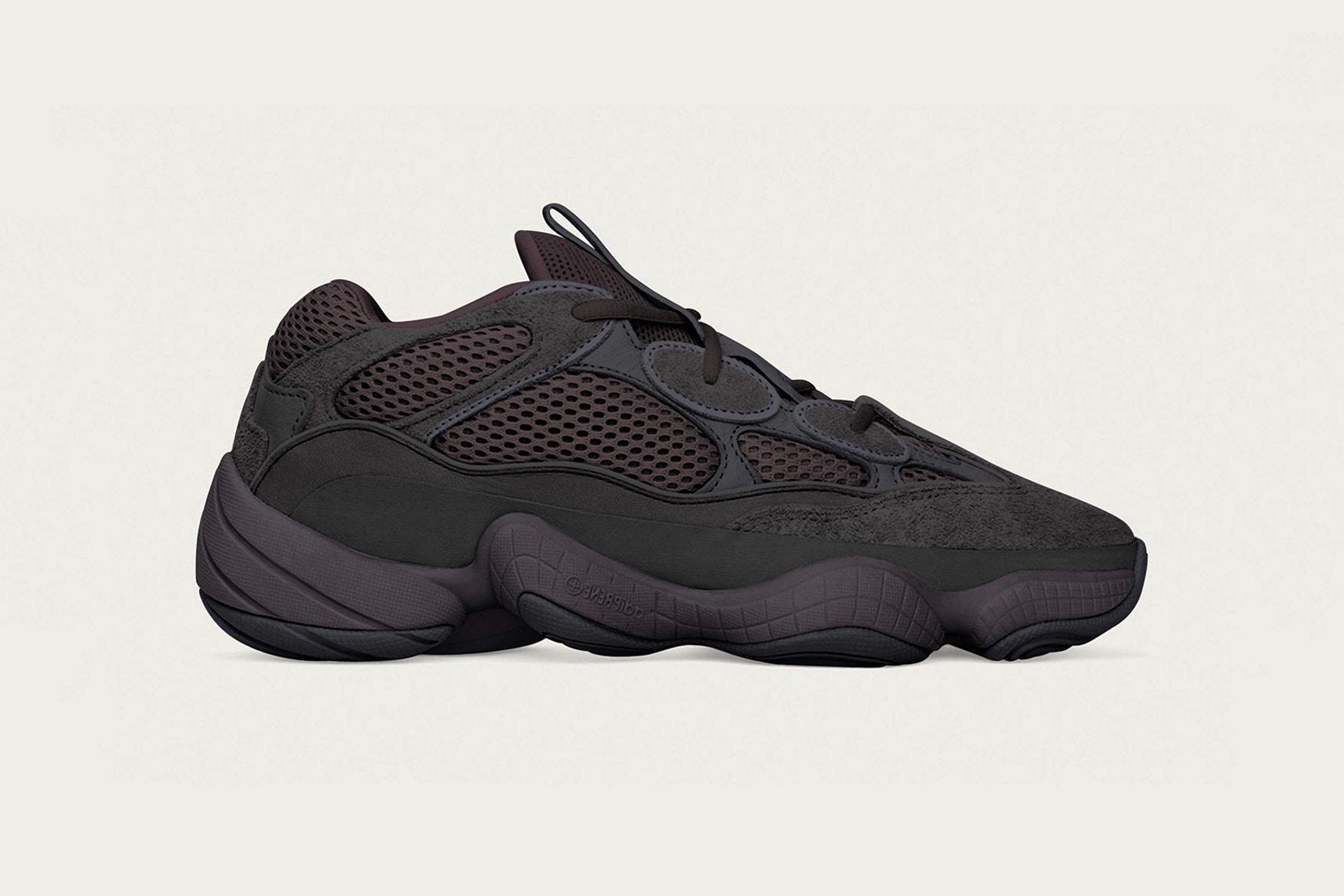 adidas YEEZY 500 в расцветке Utility Black